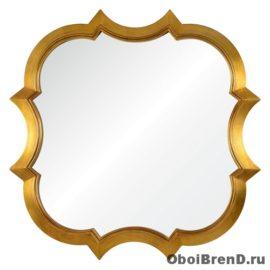 Зеркало квадратное Krystal А88015-4 золото