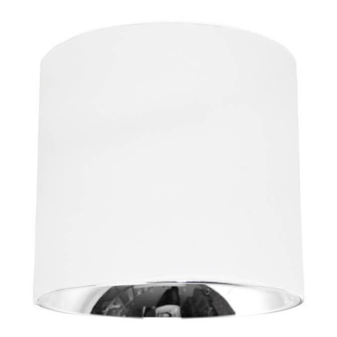 Потолочный светодиодный светильник Lumina Deco Tubi LDC 8057-10WCOB ZS-D100*H90 WT
