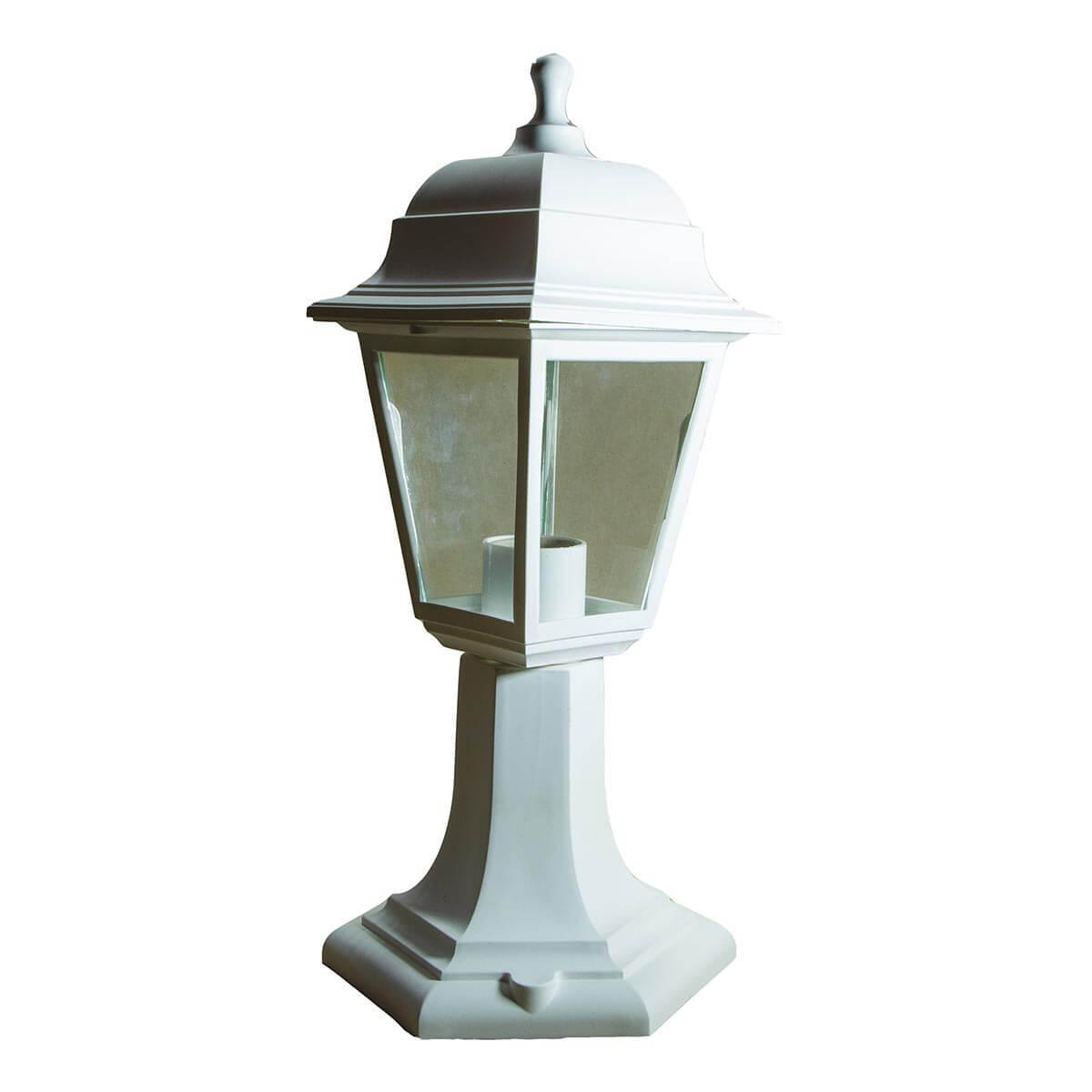 Уличный светильник ЭРА Оскар белый НТУ 04-60-001 Б0048101