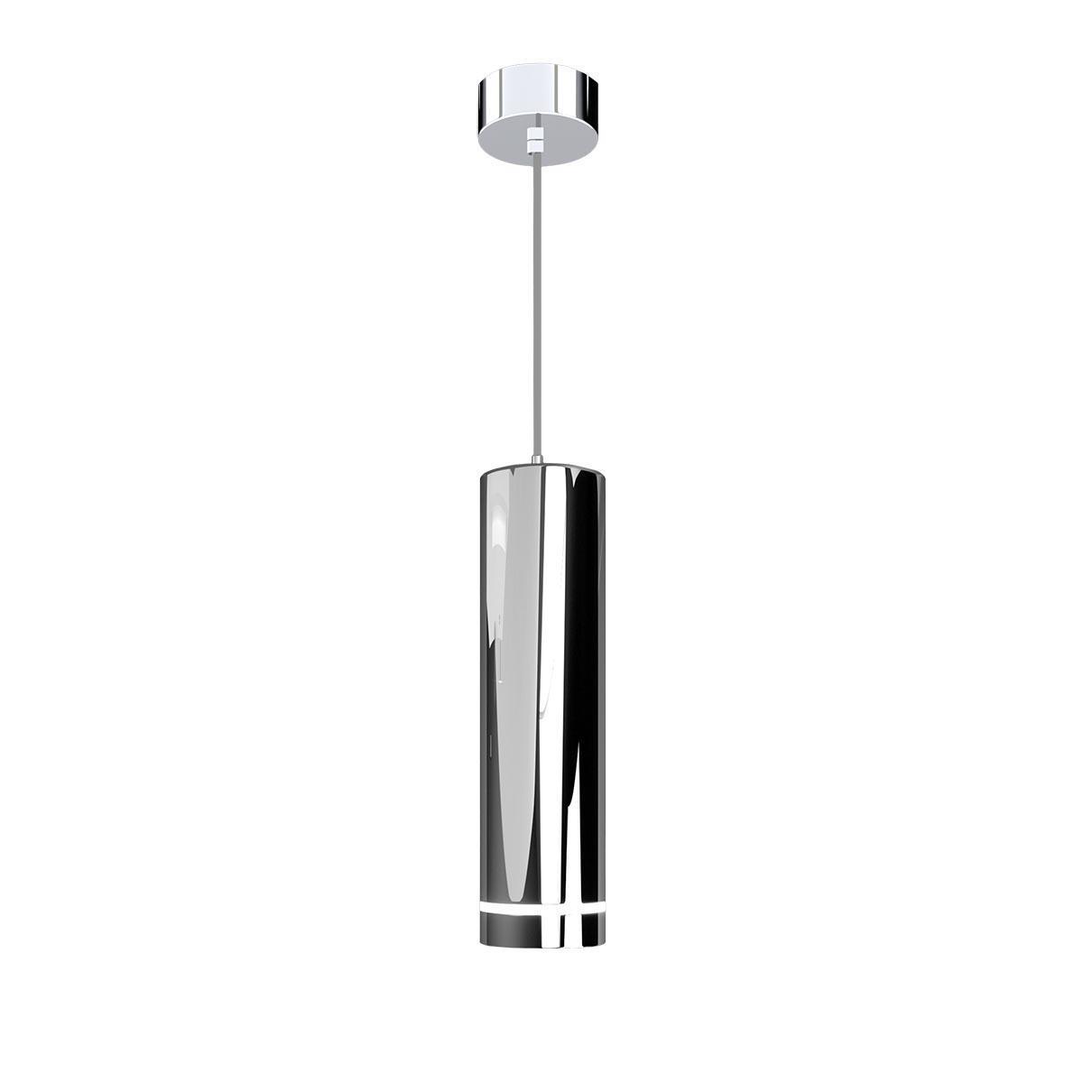 Подвесной светодиодный светильник Elektrostandard DLR023 12W 4200K хром 4690389068430