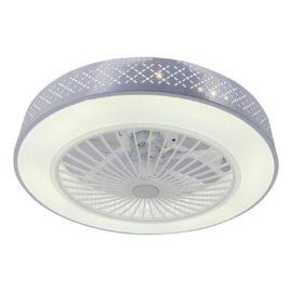 Потолочная светодиодная люстра-вентилятор Toplight Verity TL1207X-72WH
