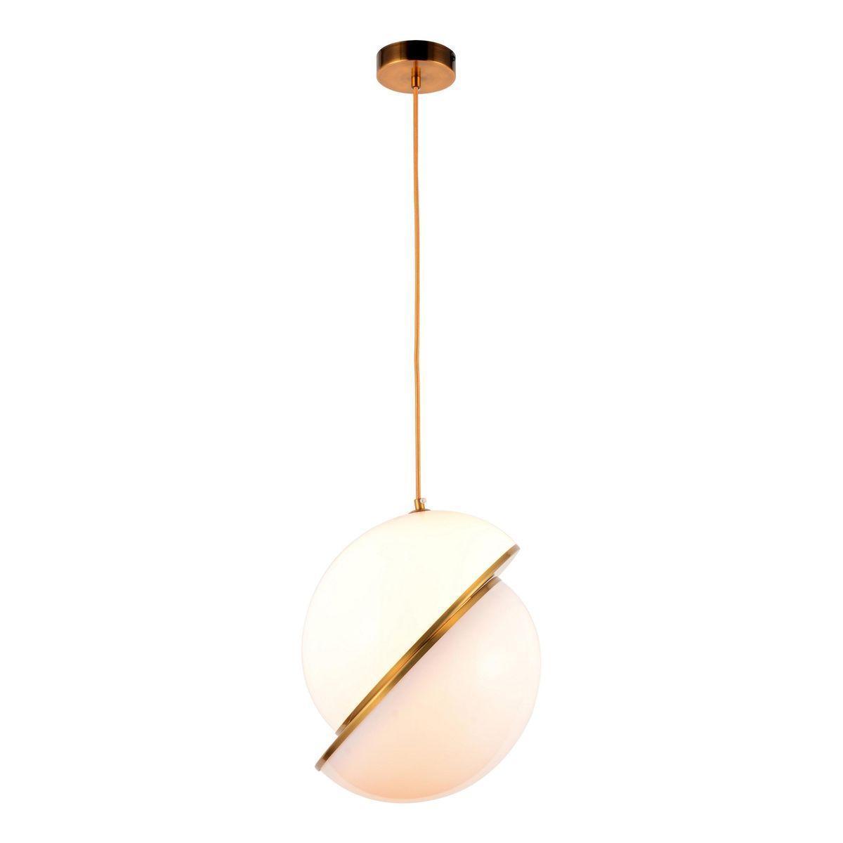 Подвесной светильник Lumina Deco Lorento LDP 1211-300 GD+WT