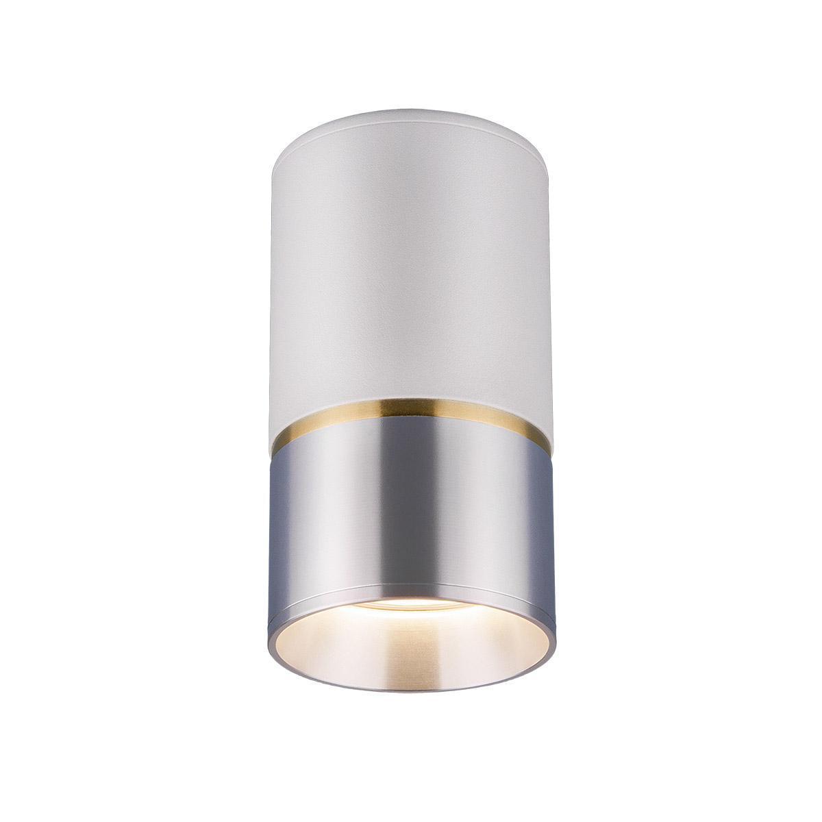 Потолочный светильник Elektrostandard DLN106 GU10 белый/серебро 4690389148606