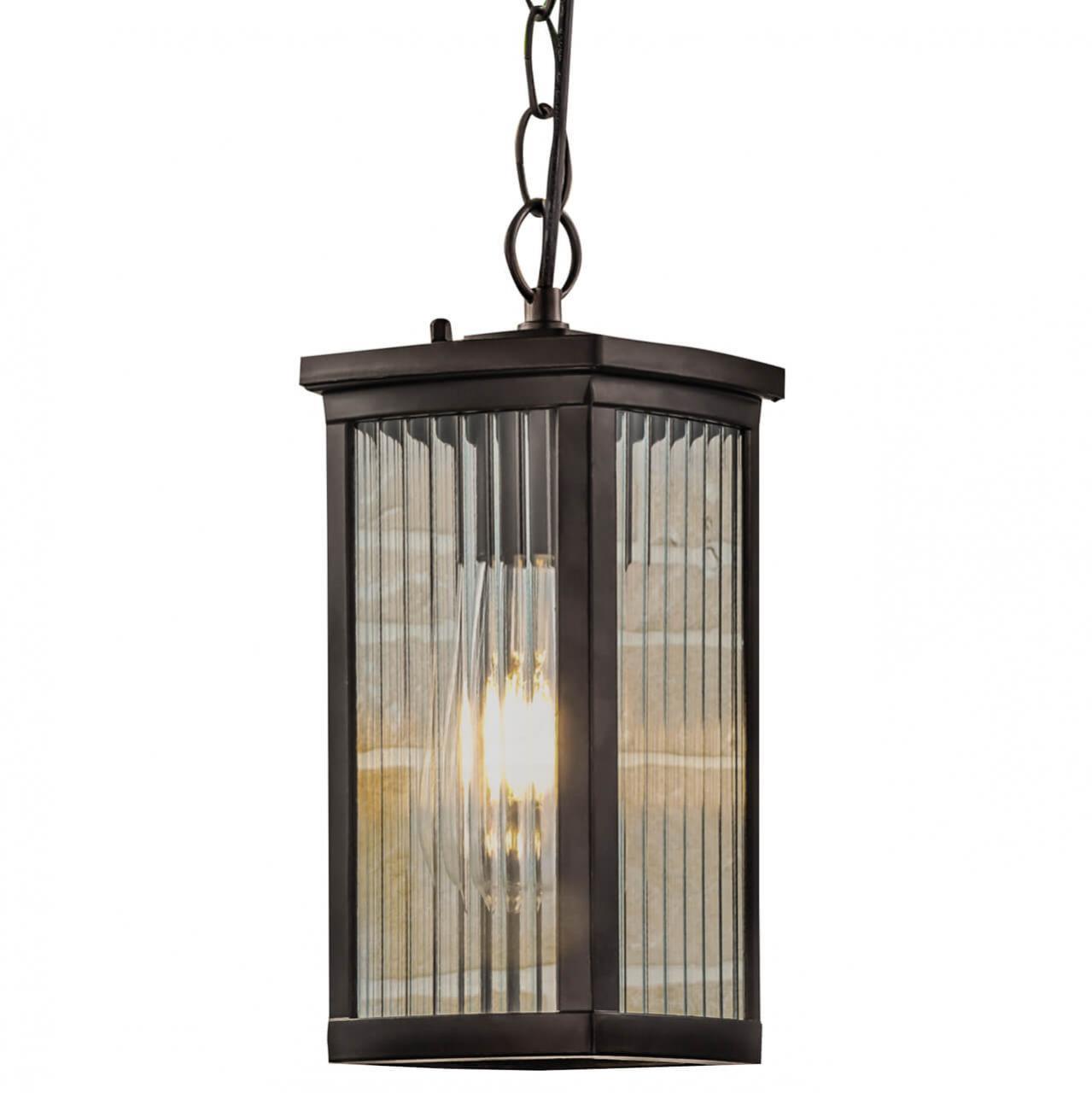 Уличный подвесной светильник Elektrostandard Lame H кофе GL 1006H 4690389148392