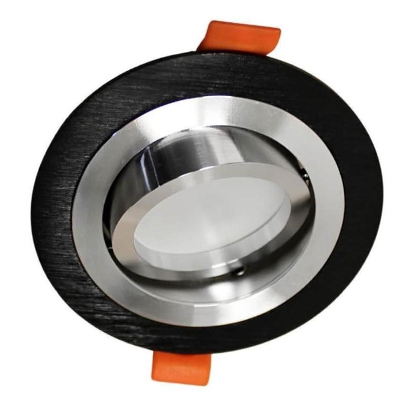 Встраиваемый светильник Lumina Deco Duka LDC 8062-JP-D90 BK+SL