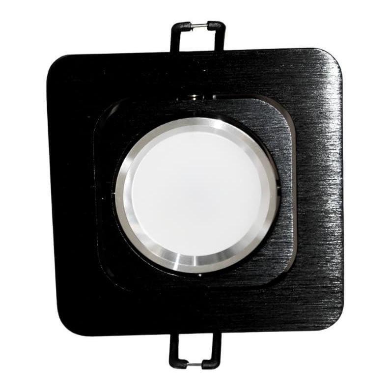 Встраиваемый светильник Lumina Deco Moka LDC 8063-SS-L98*W98 BK+SL