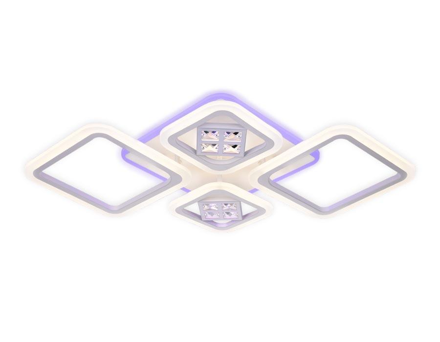 Потолочная светодиодная люстра Ambrella light Ice FA286