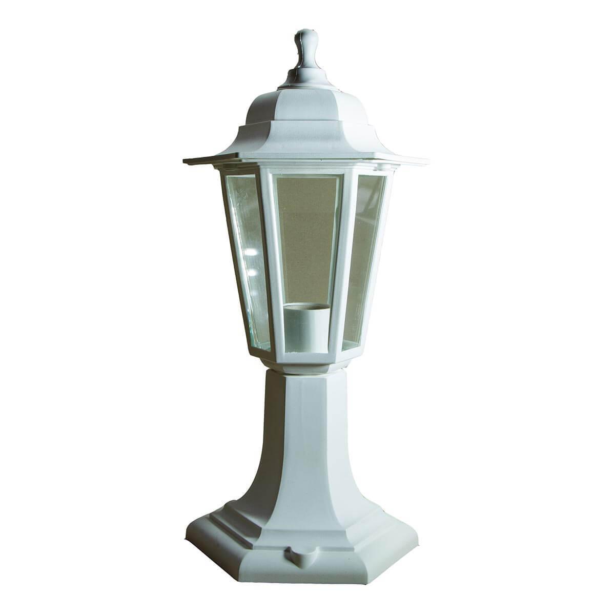 Уличный светильник ЭРА Оскар белый НТУ 06-60-001 Б0048104