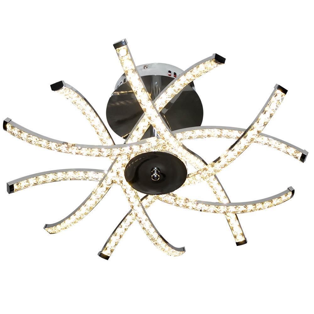 Потолочная светодиодная люстра Hiper Crown H818-8