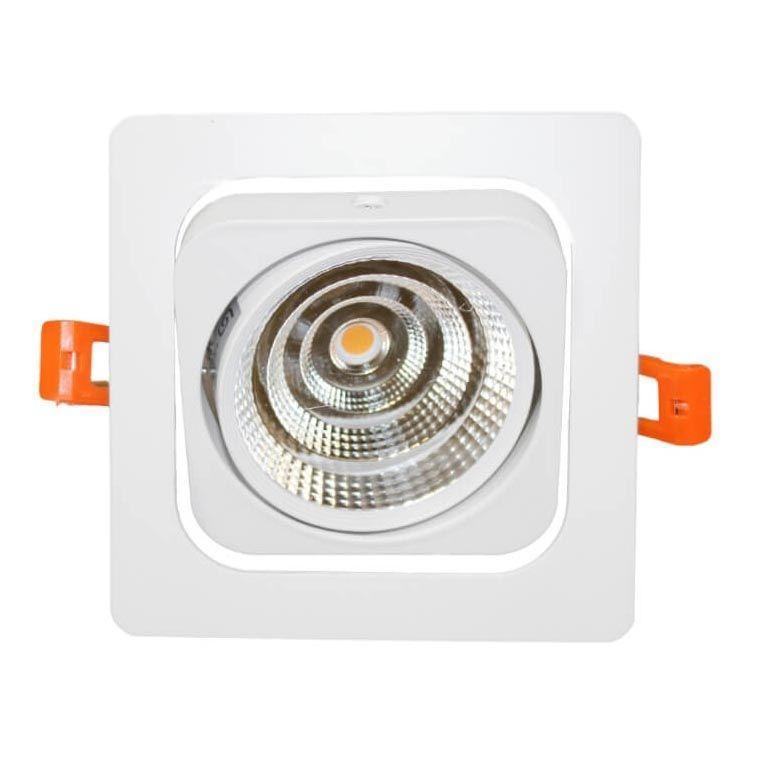 Встраиваемый светодиодный светильник Lumina Deco Fostis LDC 8064-SS-7WCOB-L98*W98 WT