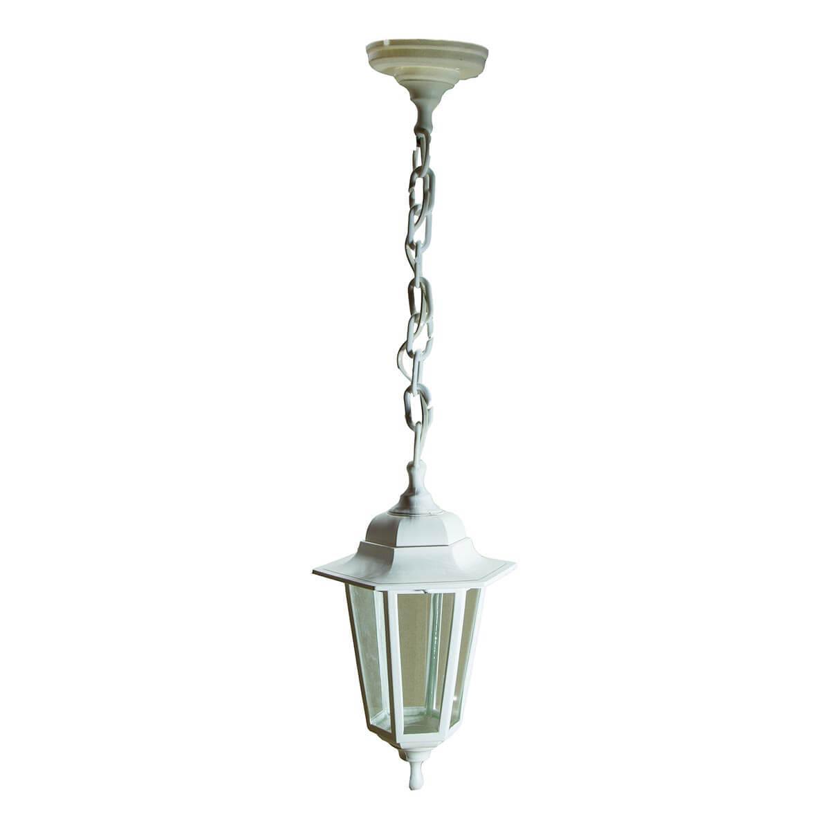 Уличный подвесной светильник ЭРА Адель белый НСУ 06-60-001 Б0048110