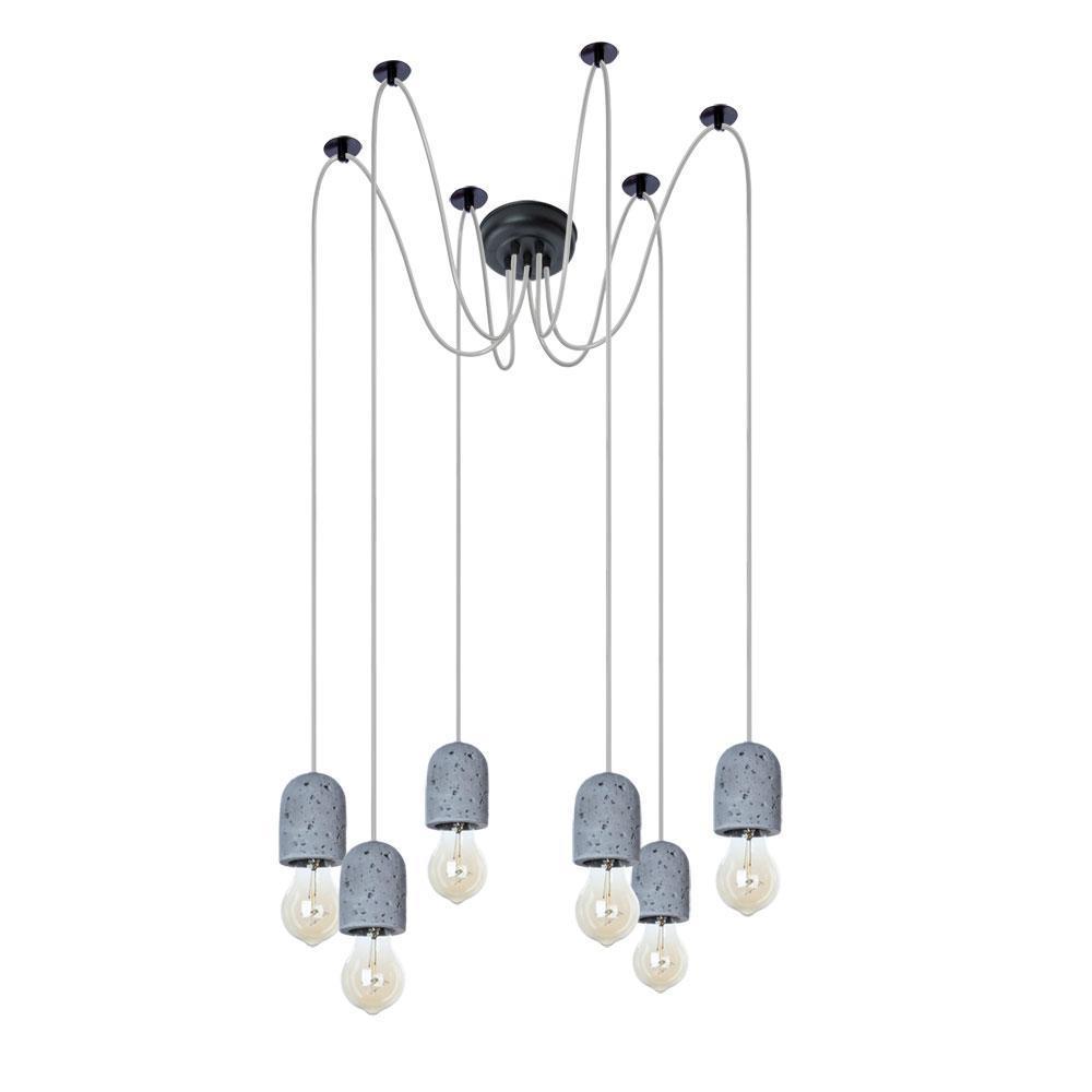 Подвесная люстра Arte Lamp Bender A4321SP-6GY