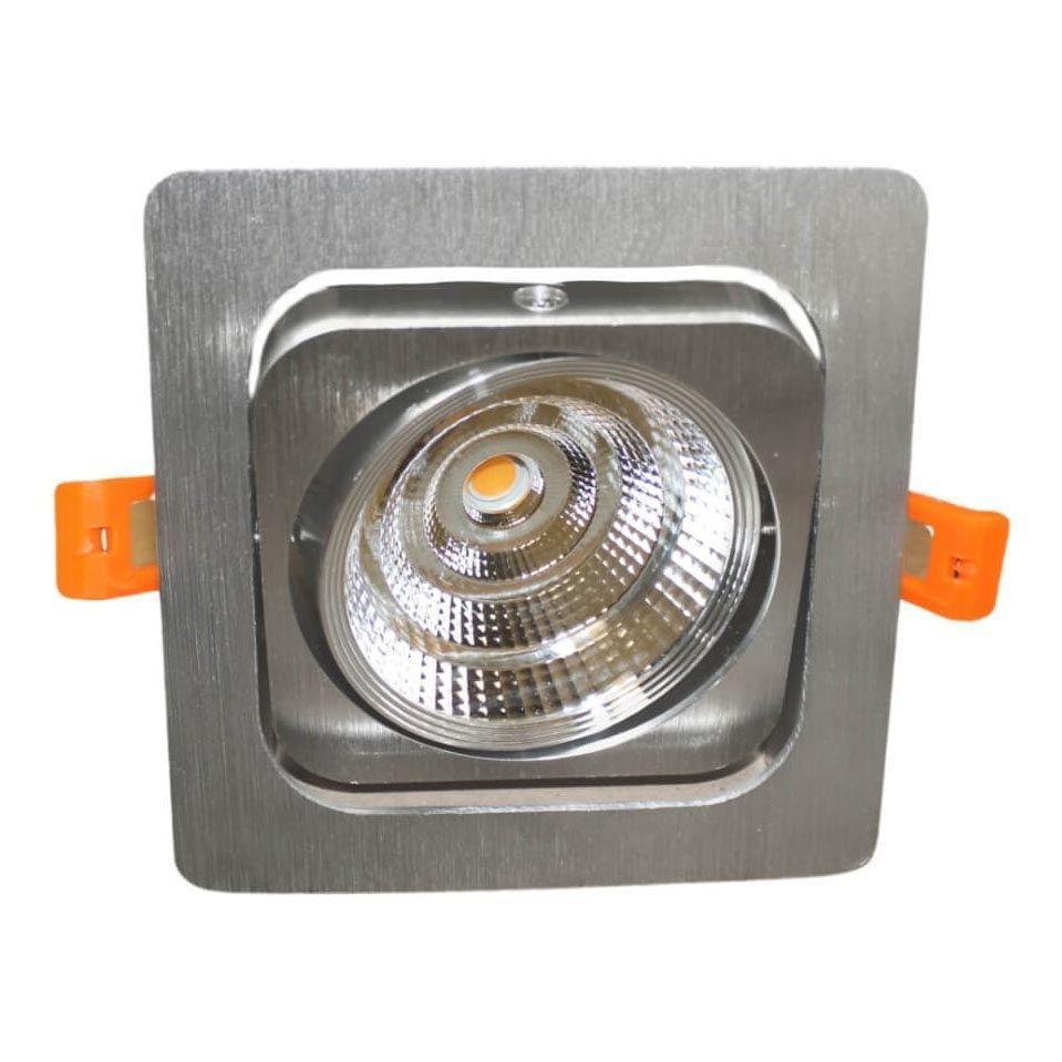 Встраиваемый светодиодный светильник Lumina Deco Fostis LDC 8065-SS-10WCOB-L120*W120 SL