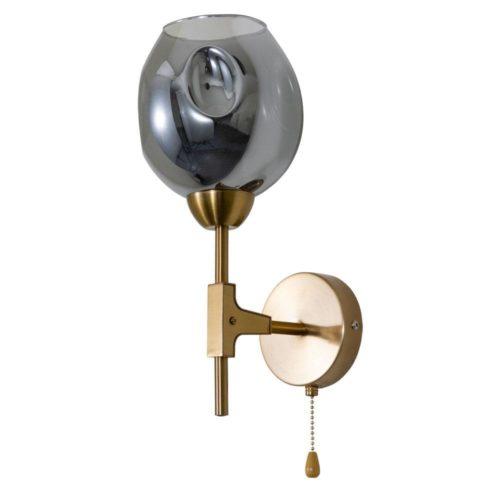 Бра Arte Lamp Yuka Smoky A7759AP-1PB