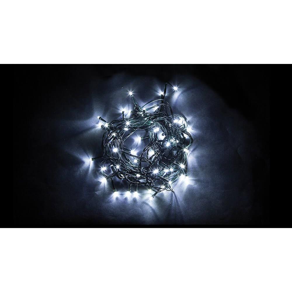 Светодиодная гирлянда Feron 10 веток 230V 5000K холодный белый с мерцанием CL92 32378