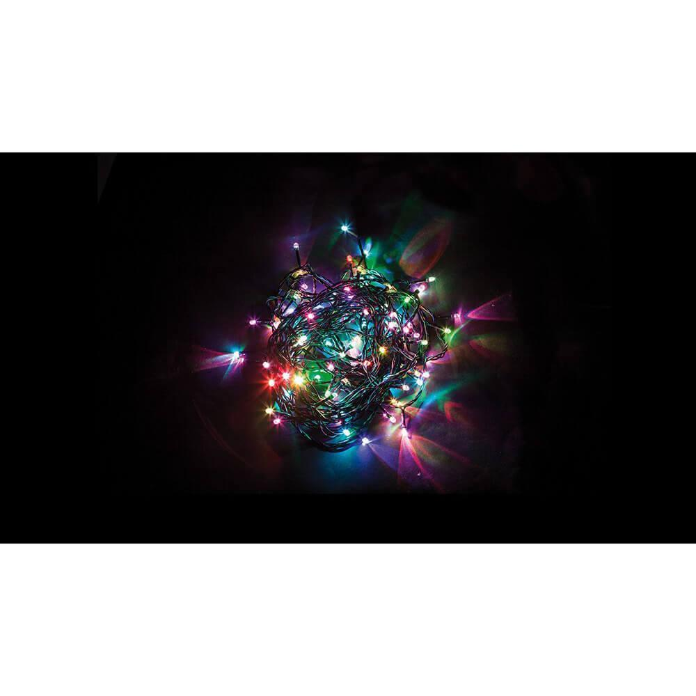 Светодиодная гирлянда Feron 7 веток 230V разноцветная с мерцанием CL91 32373