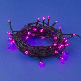 Светодиодная гирлянда (UL-00007306) Uniel 220V розовый ULD-S0500-050/DGA Pink IP20