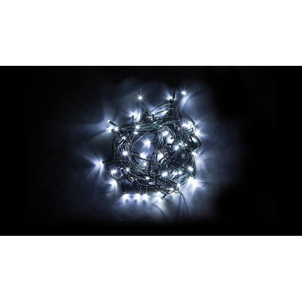Светодиодная гирлянда Feron 7 веток 230V 5000K холодный белый с мерцанием CL90 32372
