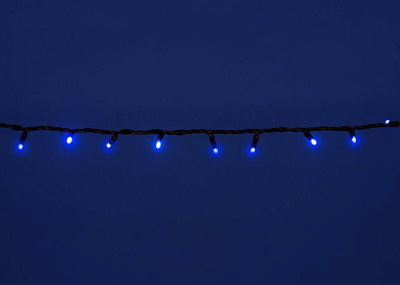 Уличная светодиодная гирлянда (UL-00005262) Uniel 220V синий ULD-S1000-120/DBA Blue IP67