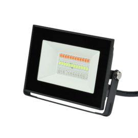 Прожектор светодиодный (UL-00007144) Uniel 20W ULF-F60-20W/RGB IP65 200-240В Black