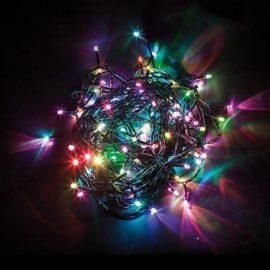 Светодиодная гирлянда Feron 15 веток 230V разноцветная с мерцанием CL93 32953
