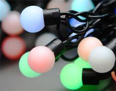 Светодиодная гирлянда Globo разноцветная 230V 3407
