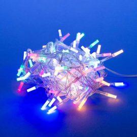 Светодиодная гирлянда (UL-00003948) Uniel 220V разноцветный ULD-S0500-100/DTA Multi IP20 Crystal