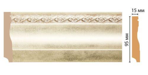 Плинтус напольный Decomaster 153-937 (95*12*2400)