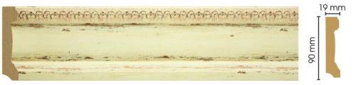 Плинтус напольный Decomaster 166-1028 (90*19*2400)