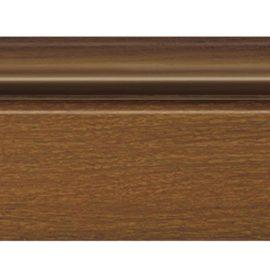 Цветной напольный плинтус DECOMASTER D122-85 ШК/16 (78*21*2400 мм)