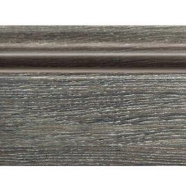 Цветной напольный плинтус DECOMASTER D122-87 ШК/16 (78*21*2400 мм)