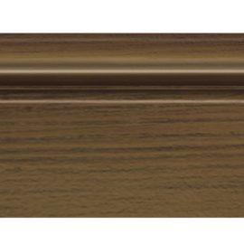 Цветной напольный плинтус DECOMASTER D122-88 ШК/16 ДМ (78*21*2400 мм)