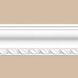 Плинтус потолочный с рисунком DECOMASTER 95638 (50*50*2400мм)