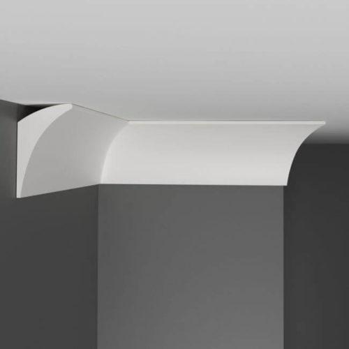 Плинтус потолочный гладкий DECOMASTER A209 (70*42*2000мм)