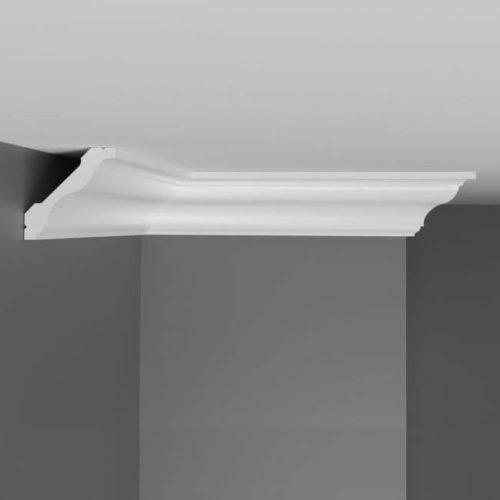 Плинтус потолочный гладкий DECOMASTER D110ДМ (43*43*2000мм)
