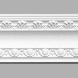 Плинтус потолочный с рисунком DECOMASTER 95016 (80х65х2400мм)