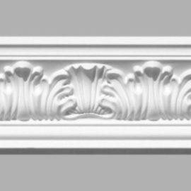 Плинтус потолочный с рисунком DECOMASTER 95018 (65х68х2400мм)