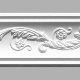 Плинтус потолочный с рисунком DECOMASTER 95020 (80х75х2400мм)