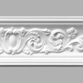 Плинтус потолочный с рисунком DECOMASTER 95022 (80х80х2400мм)