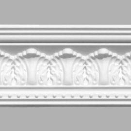 Плинтус потолочный с рисунком DECOMASTER 95024 (85х80х2400мм)