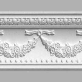 Плинтус потолочный с рисунком DECOMASTER 95026 (160х200х2400мм)