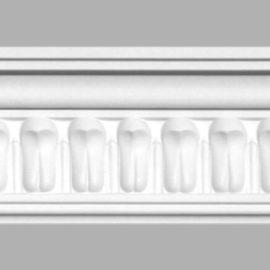 Плинтус потолочный с рисунком DECOMASTER 95028 (90х50х2400мм)