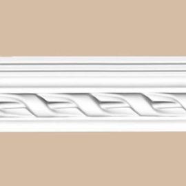 Плинтус потолочный с рисунком DECOMASTER 95081F гибкий (54*40*2400мм)