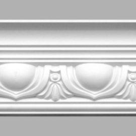 Плинтус потолочный с рисунком DECOMASTER 95090 (150х118х2400мм)