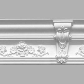 Плинтус потолочный с рисунком DECOMASTER 95091 (170х155х2400мм)