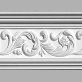 Плинтус потолочный с рисунком DECOMASTER 95094 (150х62х2400мм)