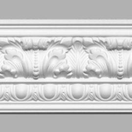 Плинтус потолочный с рисунком DECOMASTER 95096 (110х108х2400мм)