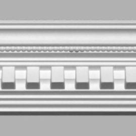 Плинтус потолочный с рисунком DECOMASTER 95101 (100х105х2400мм)