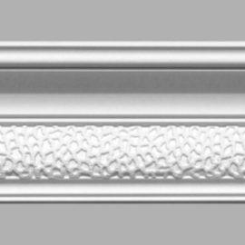 Плинтус потолочный с рисунком DECOMASTER 95102 (105х90х2400мм)