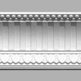 Плинтус потолочный с рисунком DECOMASTER 95105 (120х105х2400мм)